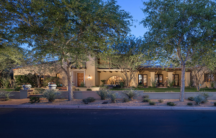 Charming Spanish Hacienda in the Extraordinary Silverleaf of Scottsdale